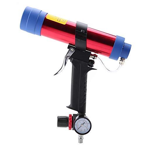 Akozon Pneumatic Glass Glue Sealant Gun 310ML Pneumatic Caulking Gun...
