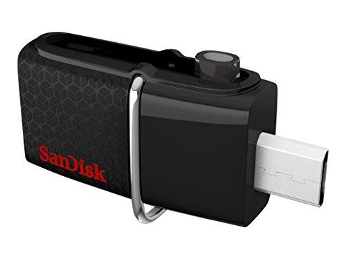 Sandisk Ultra Dual USB Flash Drive, 32 GB, Black (SDDD2-032G-A46)