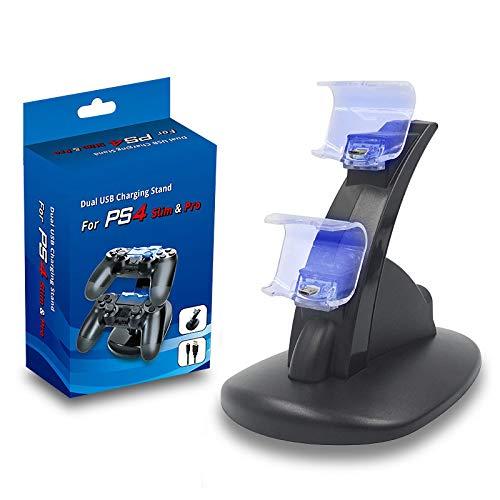 Geeignet fürPlaystation DualshockdiePS 4Controller drahtlose SpielbrettPS4 Pro SilmvonPS4Bluetooth Spiel Joystick VibrationsplattePS3 PCSpielDualChargerStand