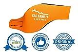 Ear Bandit Kopfband / Ohrschutz für Schwimmer Orange orange M