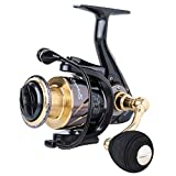 Sougayilang Fishing Reel Spinning -12+1BB Ultralight Smooth Powerful Spinning Reels for Freshwater Saltwater Bass Fishing …