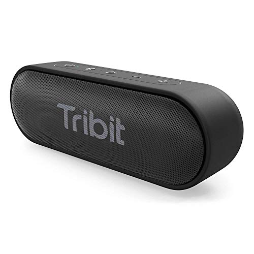 Tribit XSound Go Bluetooth Speakers - 12W Portable Speaker Loud Stereo Sound, Rich Bass, IPX7 Waterproof, 24 Hour Playtime, 66 ft Bluetooth Range & Built-in Mic Outdoor Party Wireless Speaker