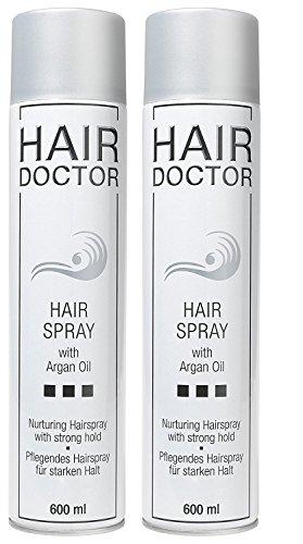 HAIR DOCTOR Hair Spray 600 ml 2 STÜCK