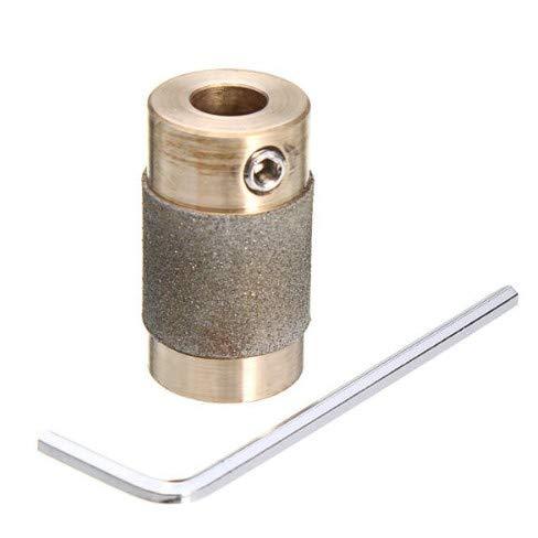 TITA-DONG 3/4 pulgadas de pulido Bit de vidrio manchado cabeza amoladora de cobre diamante