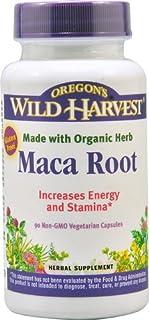 Oregon's Wild Harvest Maca Root -- 90 Non-GMO Vegetarian Capsules