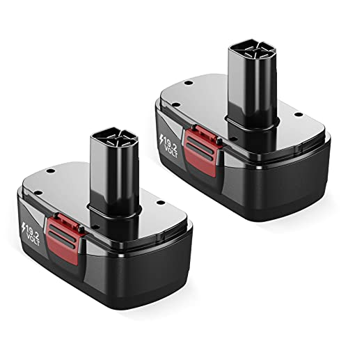Powerextra 2 Pack 3.7Ah 19.2V Craftsman Replacement Battery Compatible...