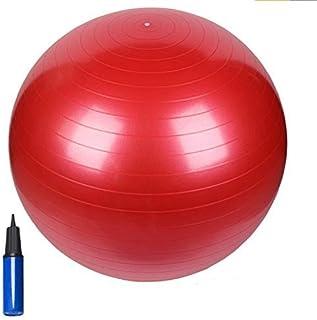 HCE Gym Ball, Balancing Yoga Ball Chair Stability Commercial Swiss Pilates Birthing Ball, Anti-Burst Heavy-Duty Extra Thic...