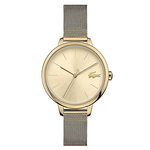 Lacoste Reloj Analógico para Mujer de Cuarzo con Correa en Acero Inoxidable 2001128