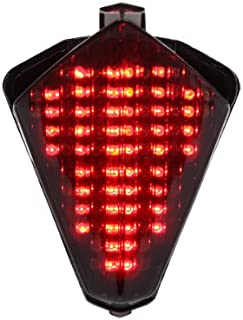 Integrated Sequential LED Tail Lights Smoked Lens for 2007-2008 Yamaha YZF R1