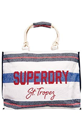 SuperdryAmaya Rope ToteDamenMehrfarbig (Navy/Red Stripe)56x36x16 centimeters (W x H x L)