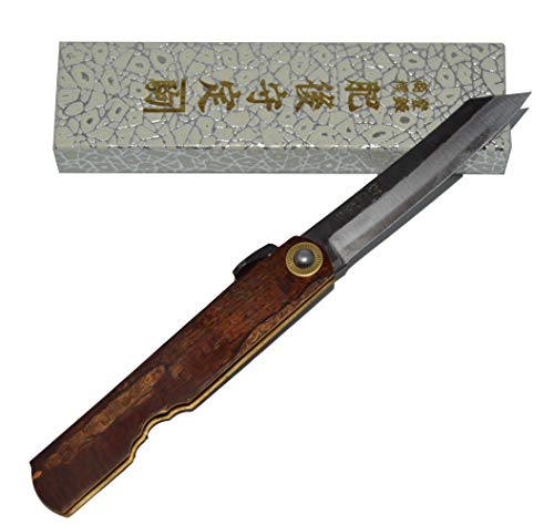 Higonokami Klappmesser Taschenmesser Japanisches Kabazaiku by Nagao Kanekoma