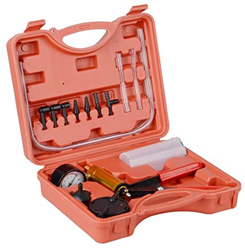 DAYUAN Kit de herramientas de medición de vacío para bomba de vacío de mano automotriz con mango de metal