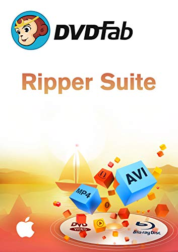 Ripper Suite ( DVD + Blu-Ray Ripper) MAC-Lifetime Lizenz (Product Keycard ohne Datenträger)