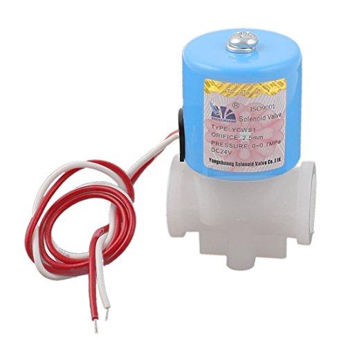 DC 24V 1/0-0.7MPa válvula de agua 4BSP eléctrica de dos vías de...