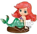 Disney Ariel Figura QPOSKET Blancanieves 7 CM, Multicolor (1)...