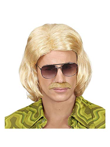 WIDMANN s6938/?/Peluca con barba de talla /única blanca bigote y cejas de Alte chino