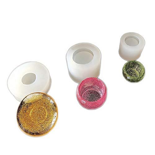 3 pcs/Set Epoxy Resin Molds,Small Dish,Big Bowl,Silicone Molds,Transparent Jewelry Mold Making Tools, DIY Pendant Make,Gifts Handcraft Q100/Q099/Q098
