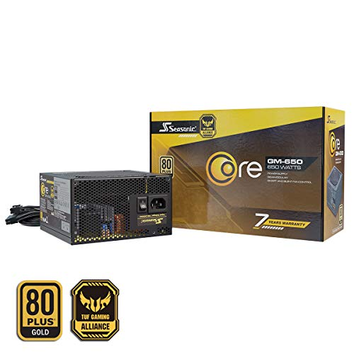 SeaSonic CORE GM-650 Gold Gold Alimentatore Modulare da 650W