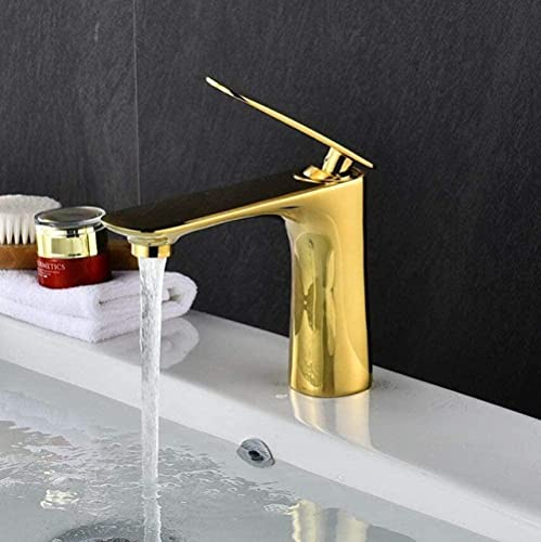 Grifo SinkTap baño grifo del fregadero latón cromo/oro/negro/blanco/rojo/naranja fregadero grifo caliente frío grúa fregadero blanco china-china_oro