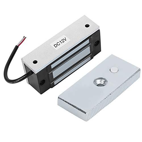 Cerradura electromagnética, cerradura magnética electrónica resistente profesional para puertas de metal