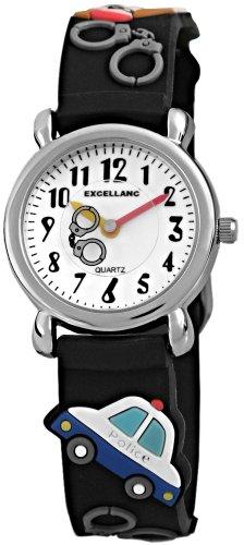 Excellanc Unisex-Armbanduhr Analog Quarz Kautschuk 407010000011