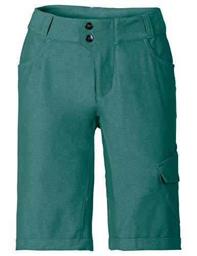 VAUDE Tremalzo Shorts II Bas Femme, Nickel Green, Taille 40