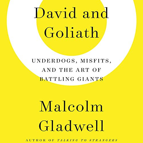 David and Goliath Audiobook By Malcolm Gladwell cover art