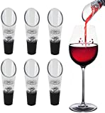 KARP Wine Aerator Pourer (6-Pack) - Premium Aerating Decanter Spout Bar Accessories