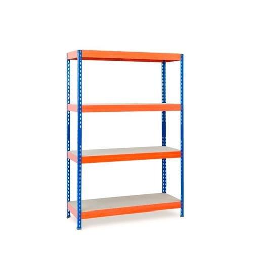 Q-Connect 58567estante metálico Ar 4Tablet tes hasta 430kg tabletas madera montaje fácil 2000x 1000x 600mm naranja