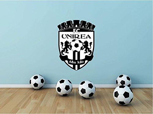 lunaprint Unirea Alba Iulia FC Romania Soccer Football Sport Home Decor Art Wall Vinyl Sticker 63 x 45 cm
