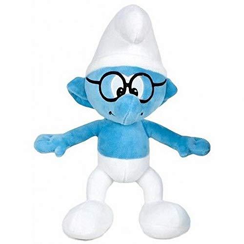 The Smurfs Schlaubi 38cm Plüschtier Brillenschlumpf Die Schlümpfe Blaue Schlumpf Comic Cartoon