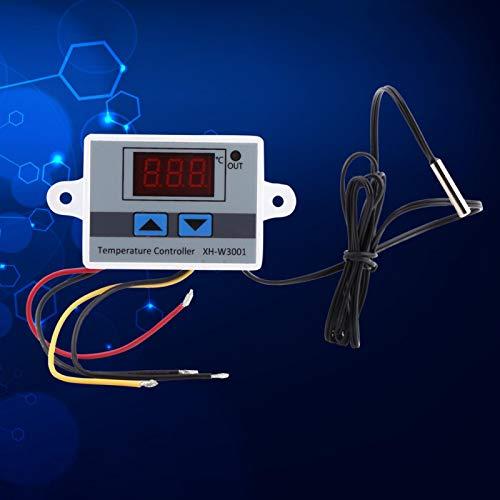 Controlador de temperatura, 1500 W con interruptor de termostato de sonda, conveniente sistema de aire acondicionado de caja rápida para equipos