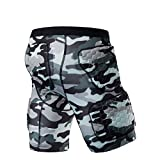 HBLWX Protection 3D Shorts de Protection rembourrés pour Les Hanches Tapis de Protection en EVA Pantalons Courts Équipement de...