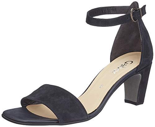 Gabor Shoes Damen Fashion Riemchensandalen, Blau (Pazifik 16), 35.5 EU