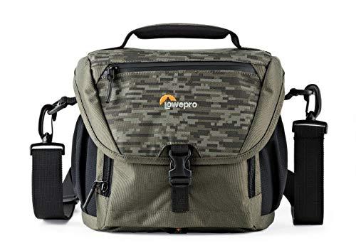 Lowepro Nova 170 AW II - Bolsa para Material fotográfico, Mica/Camuflaje Pixelado