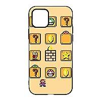 スーパーマリオ iPhone11ケース 軽量 薄型 カバー Qi充電対応 滑り止め zarker 脱着簡単 全面保護 耐衝撃 スマホケース スリムケース