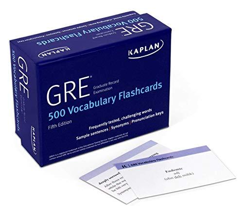 GRE Vocabulary Flashcards (Kaplan Test Prep)