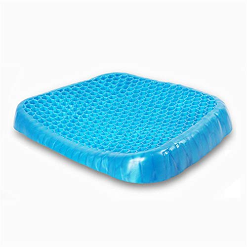 Seat Cushion Chair Cushion Gel Seat Cushion A Comfortable Ergonomic Cushion for the Lower Back Coccyx and Sciatica Relief Portable Cushion for Office Family Car Wheelchairs Washable Lid