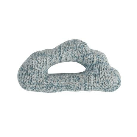 Sebra Sebra0377 - Sonajero (12 cm, 100% algodón, desde el nacimiento, a partir de 0 años), diseño de nube