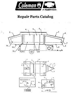 coleman pop up camper parts manual