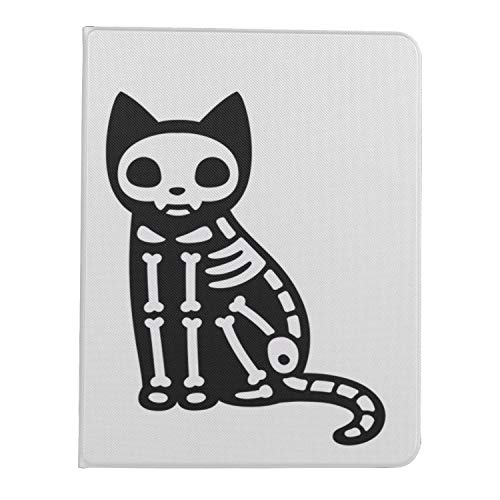 Ipad Pro 11 Case 2020&2018 Smart case Cartoon Black Cat Drawing Skeleton Cute Protective Cover for Ipad Pro 11[Support 2nd Gen Pencil Wireless Charging] Pad 11 Pro Case 2020 Tablet Case with Auto