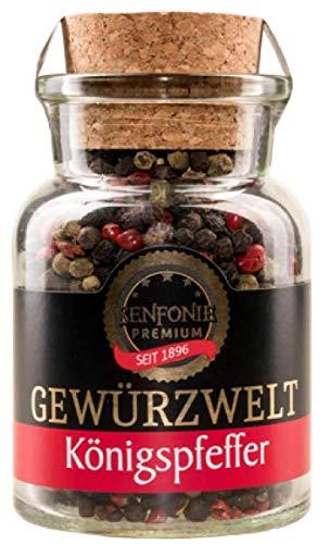 Königspfeffer - exklusive 7 Pfeffermischung, (70g Korkenglas)