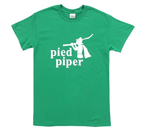 Silicon Valley Pied Piper Green T-Shirt (Adult L)