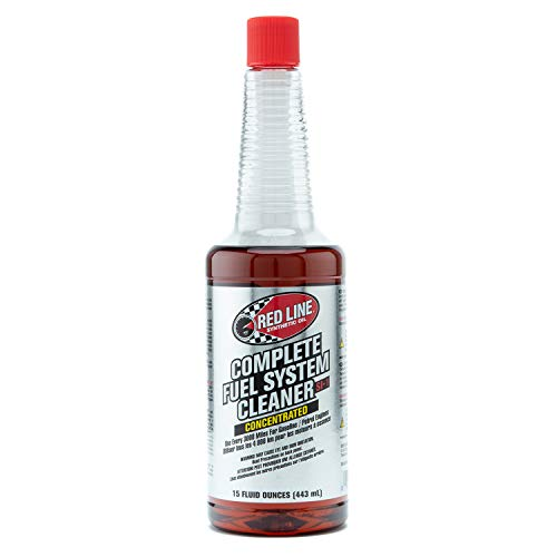 Red Line 60103-4PK Complete SI-1 Fuel System Cleaner - 15 Ounce, (Pack of 4)