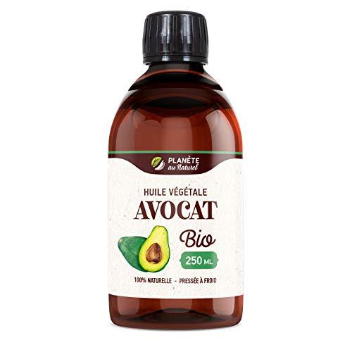 Huile d'AVOCAT Bio - 250ml - Cosmos Organic -...
