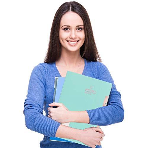 Expanding File Folder 6 Pockets, Guzack Accordion Document Folder Organizer A4 Letter Paper File Organizer Pockets, Expandable Files Folders with Buckle Closure for School Office Home ( Green ) Photo #8
