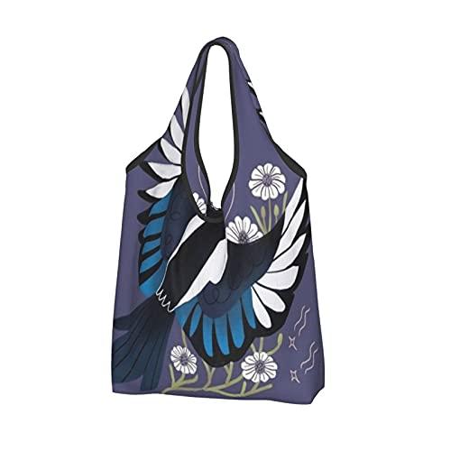 Bolsas de compras para mujer, reutilizables, plegables, ecológicas, bolsas de hombro para...