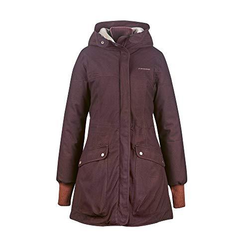 Finside W Oona Soft Rot, Damen Isolationsjacke, Größe 36 - Farbe Fudge