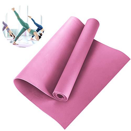 Yudanny Yogamatte, Yogamatte, Eva Fitnessmatte, rutschfest, Training, Gymnastik, Pilates, Meditations-Werkzeug (173 x 60 x 0,4 cm)
