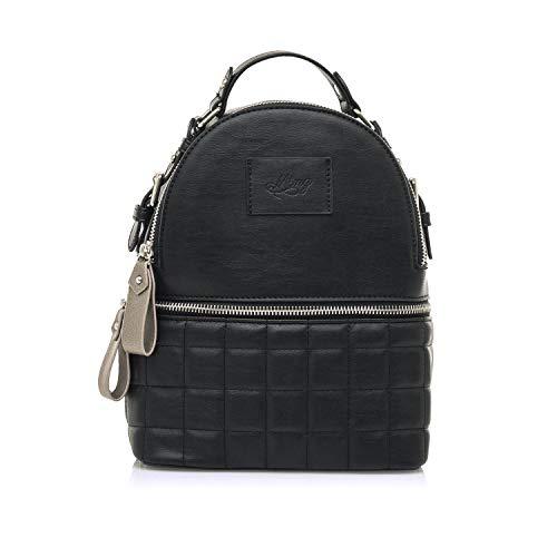 MTNG Damen MASALA Stofftasche, Haut schwarz, Medium